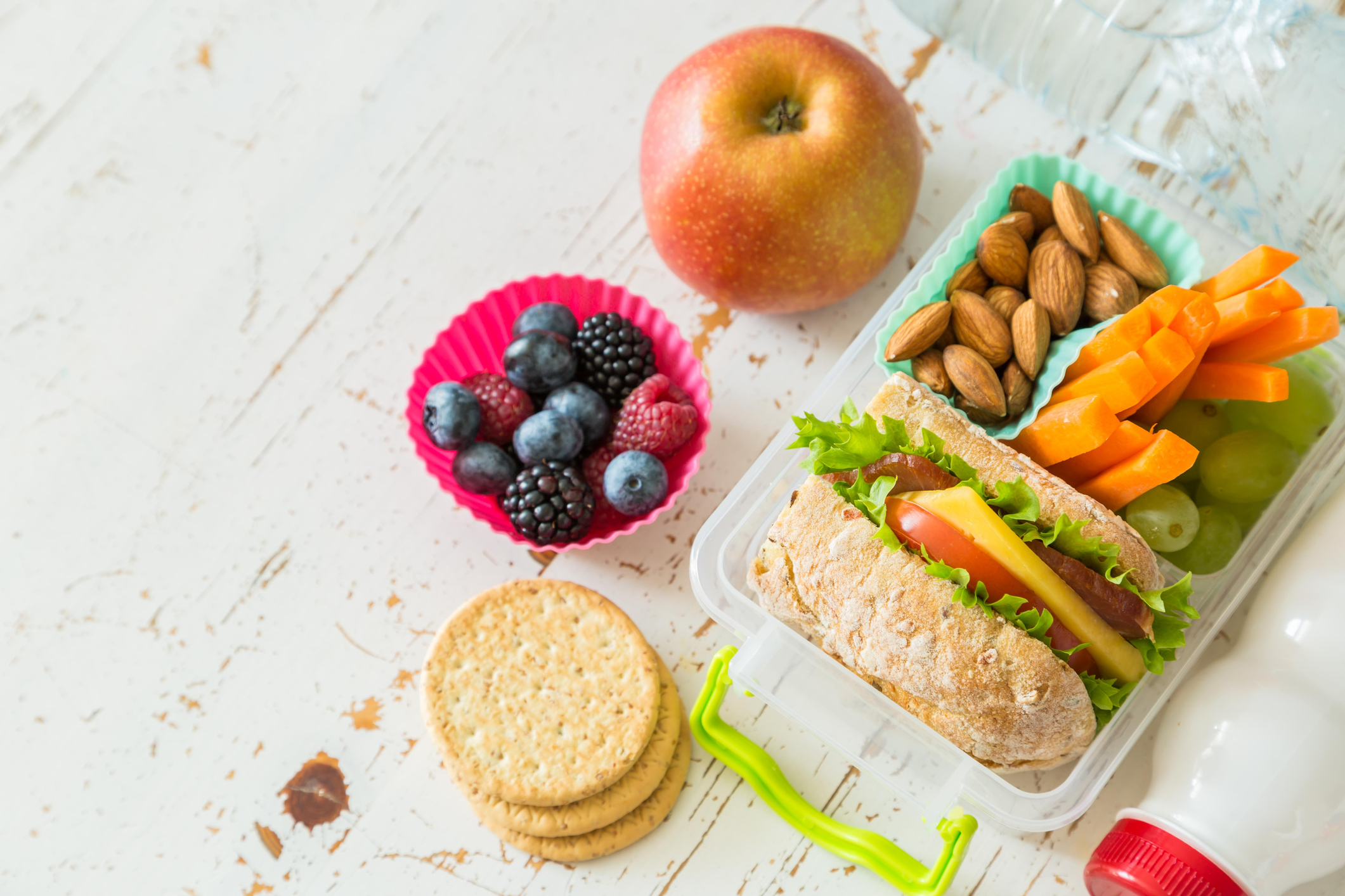 5 receitas de lanches saudáveis