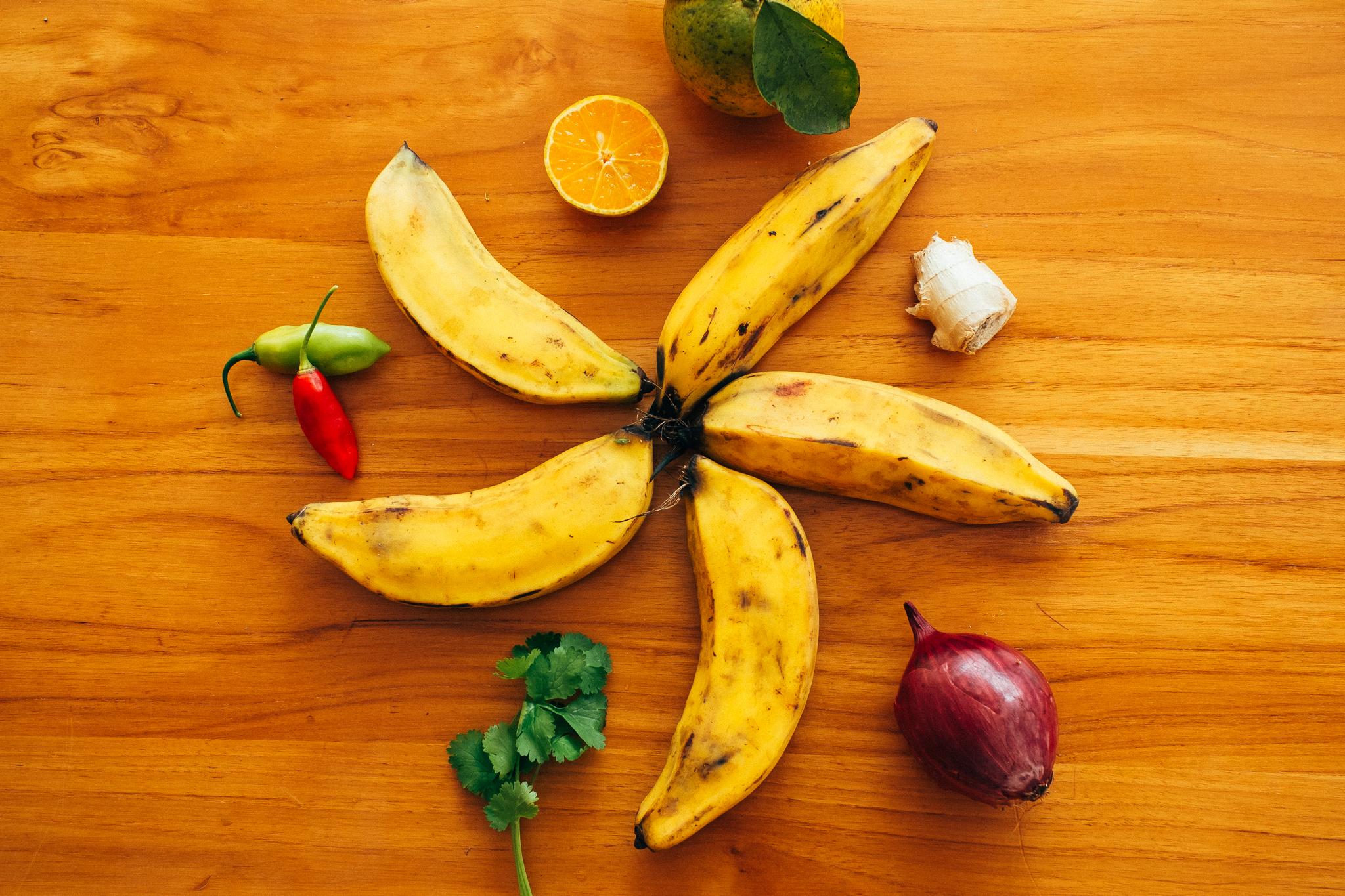 5 receitas com banana